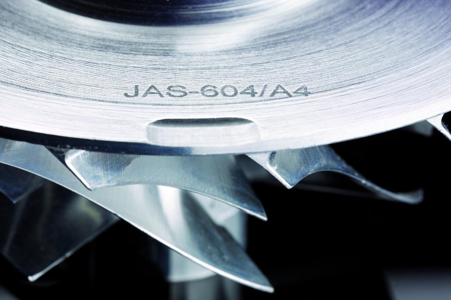 Marquage industriel sur métal