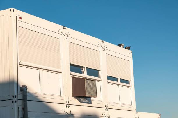 Bâtiments préfabriqués à étages pour bureaux d'entreprise