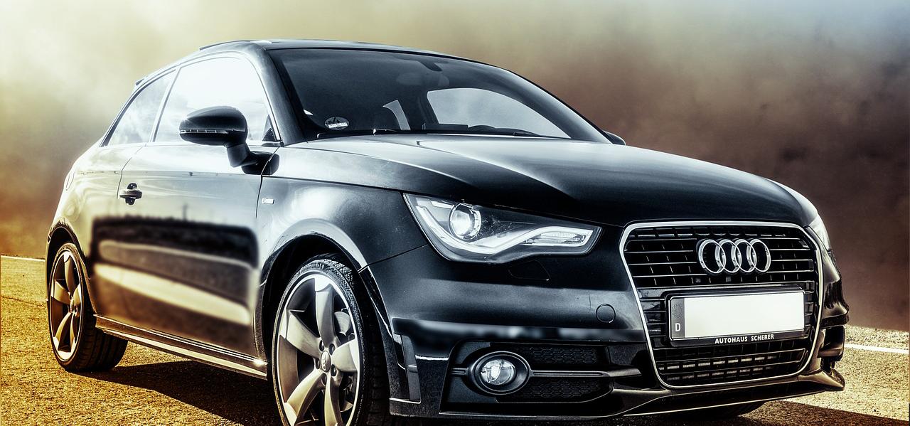 Audi SUV noir